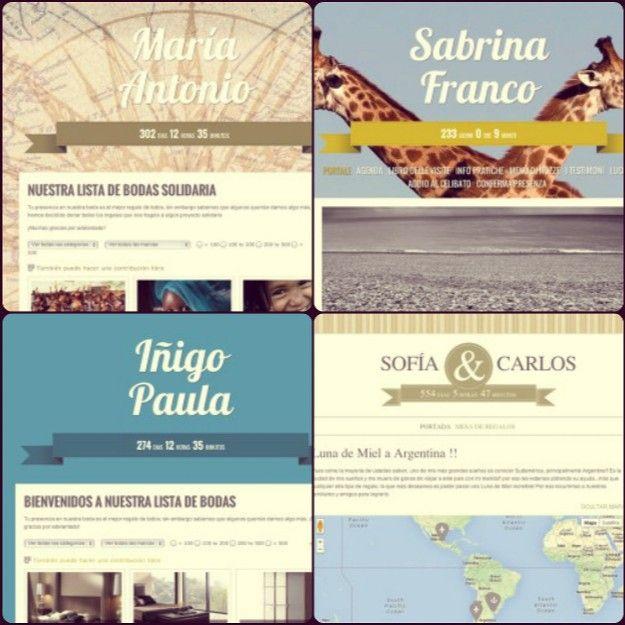 Las 5 mejores páginas web de listas de boda online